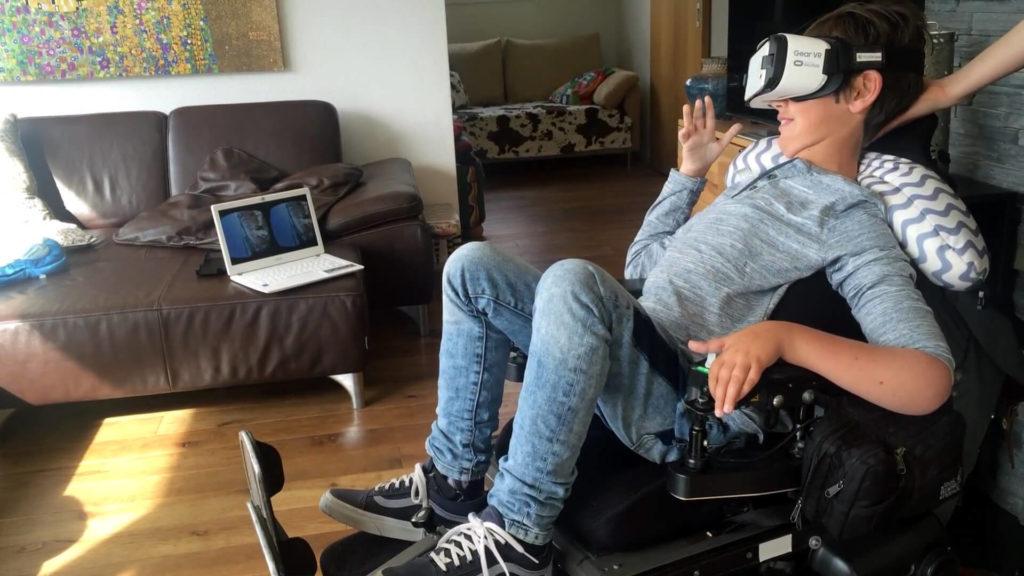VR путешествия для людей с ограниченными возможностями